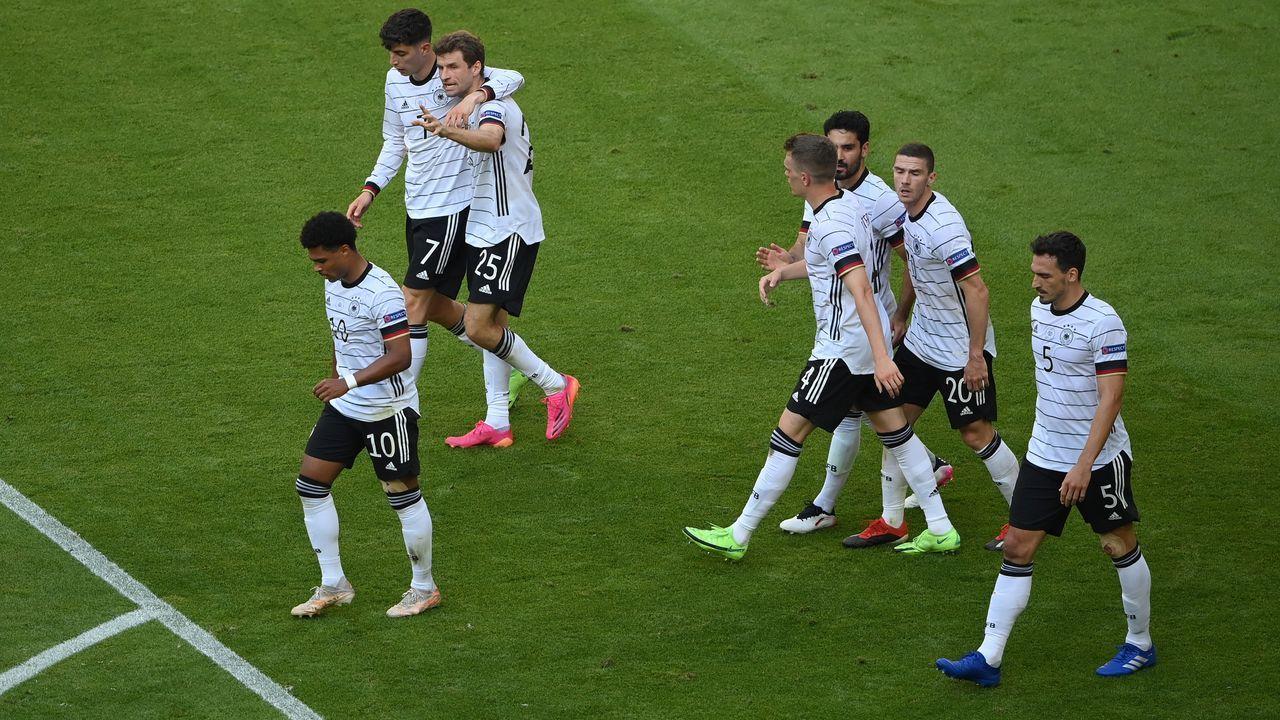 Eigentor bringt Torrekord für die DFB-Auswahl - Bildquelle: 2021 Getty Images