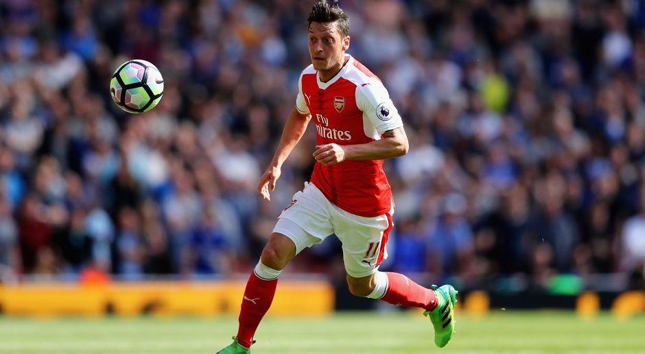 Mesut Özil - Bildquelle: 2017 Getty Images