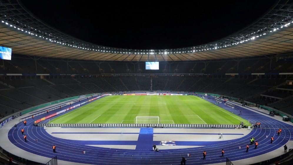 Derzeit spielt die Hertha noch im Olympiastadion - Bildquelle: FIROFIROSID