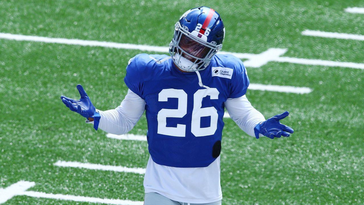 Platz 7: Saquon Barkley (New York Giants)  - Bildquelle: 2020 Getty Images