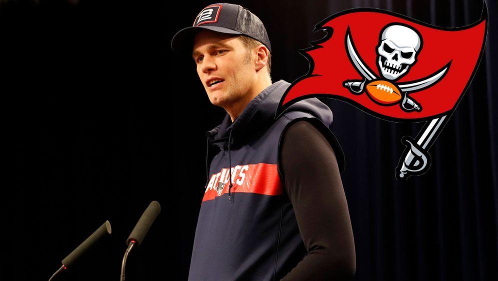 Tom Brady sprach bei einer Pressekonferenz über seinen Wechsel zu den Tampa ... - Bildquelle: imago images/Icon SMI