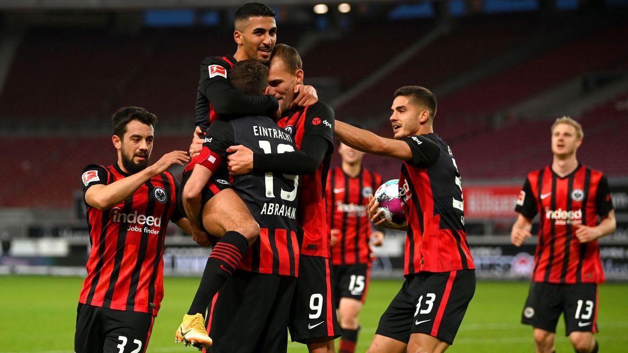 Platz 6: Eintracht Frankfurt - Bildquelle: Getty Images