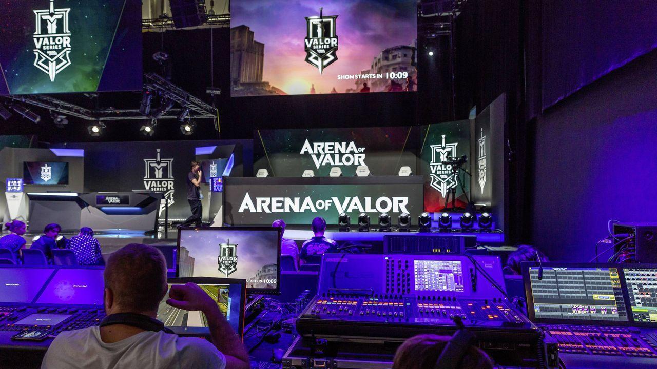Platz 11: Arena of Valor - Bildquelle: imago/Arnulf Hettrich