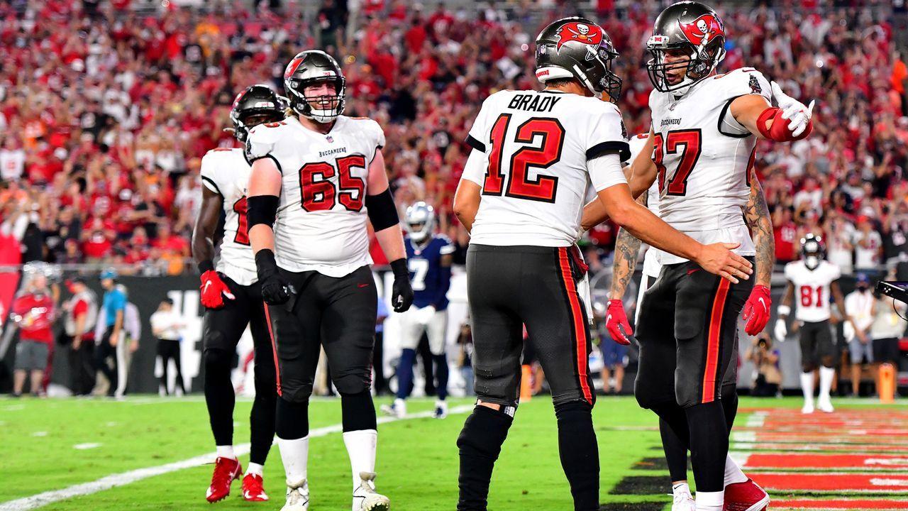 Die Traumpaare der NFL! - Bildquelle: 2021 Getty Images