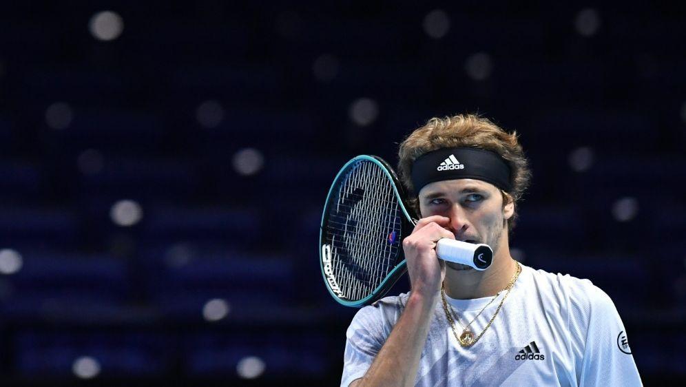 Alexander Zverev scheitert bei den ATP Finals - Bildquelle: AFPSIDGLYN KIRK