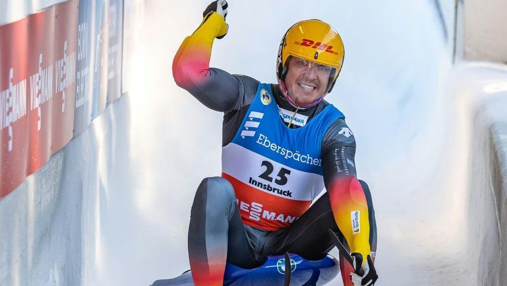 Felix Loch ist in diesem Winter wieder erfolgreich - Bildquelle: AFPSIDJOHANN GRODER