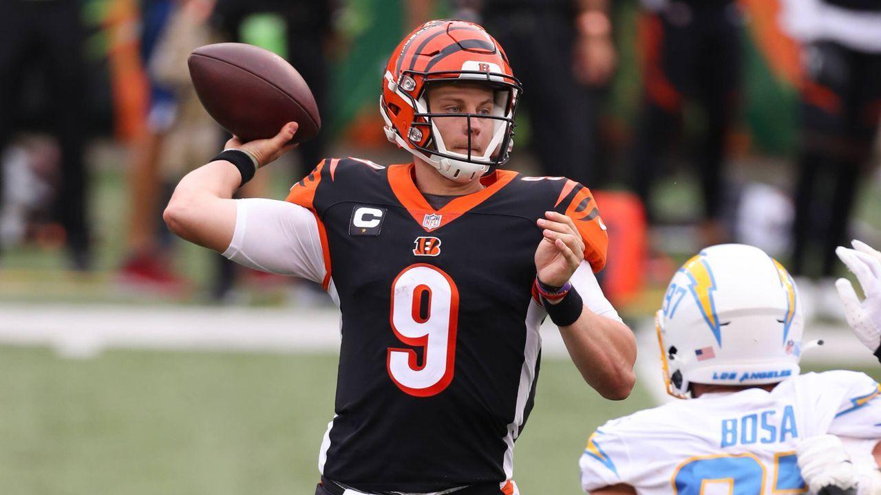 Joe Burrow (Quarterback, Cincinnati Bengals) - Bildquelle: imago images/Icon SMI