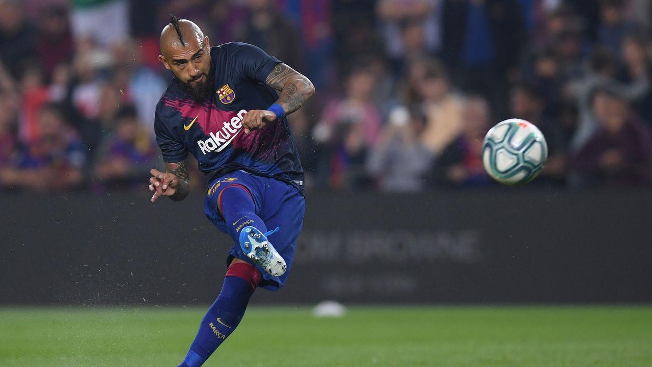 Arturo Vidal (FC Barcelona) - Bildquelle: 2019 Getty Images