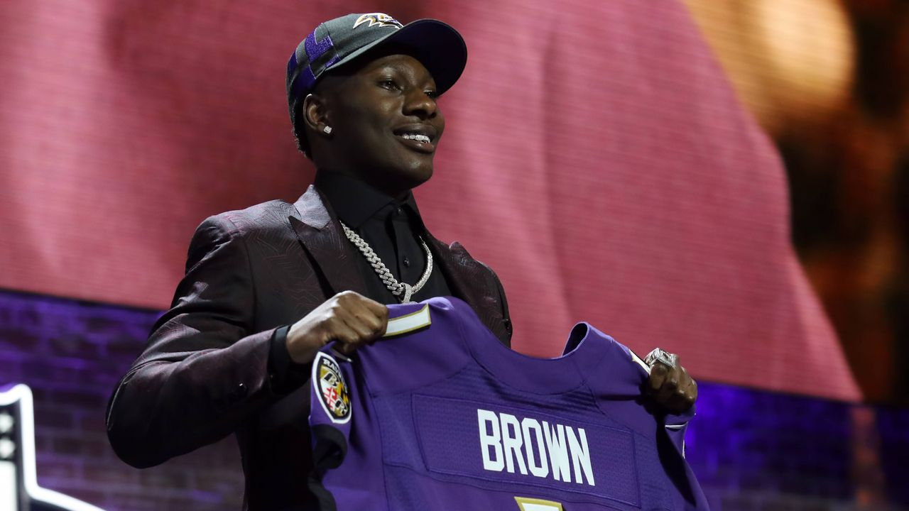 Marquise Brown (Wide Receiver, Baltimore Ravens)  - Bildquelle: imago images / Icon SMI