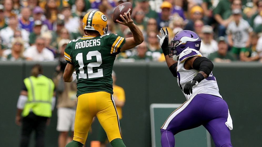 Die Packers schlagen die Vikings in Week 2. - Bildquelle: 2019 Getty Images