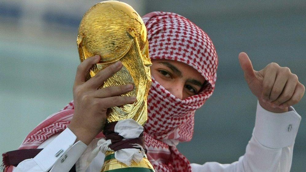 Die WM 2022 findet in Katar statt - Bildquelle: AFPSIDMARWAN NAAMANI