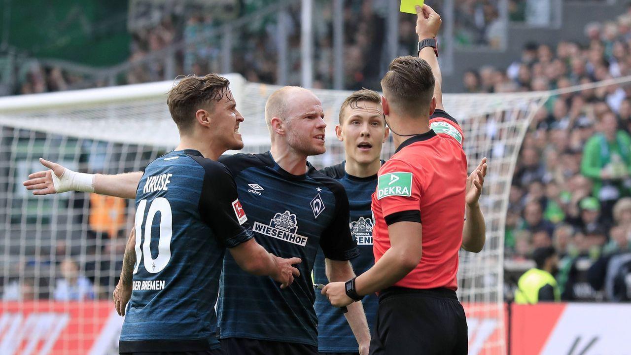 Platz 9 - SV Werder Bremen (67 Punkte) - Bildquelle: imago images / Laci Perenyi