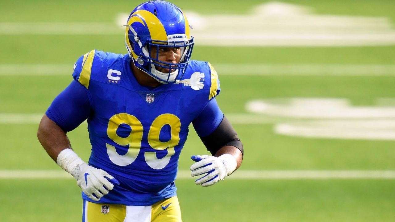 32. Aaron Donald (Defensive Tackle, Los Angeles Rams) - Bildquelle: 2020 Getty Images
