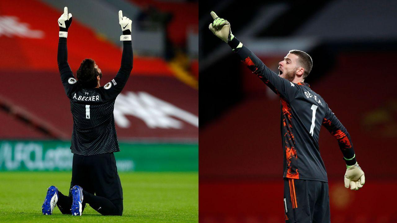 Torwart: Alisson Becker versus David De Gea  - Bildquelle: Getty Images