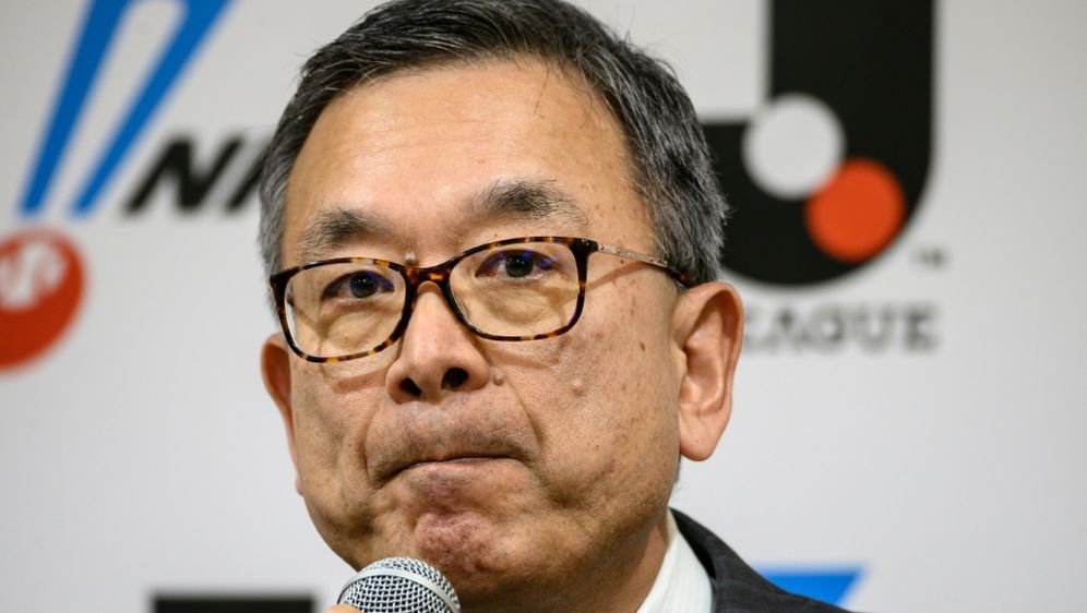 Vorsitzender der japanischen Fußballliga: Mitsuru Murai - Bildquelle: AFPSIDPHILIP FONG