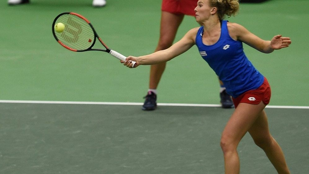 Katerina Siniakova scheitert mit Tschechien an Rumänien - Bildquelle: AFPSIDMICHAL CIZEK