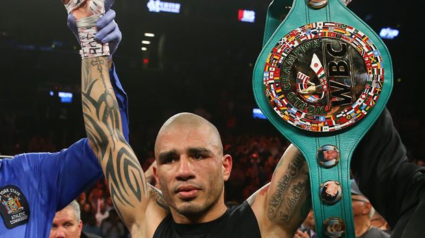 Miguel Cotto - Bildquelle: 2015 Getty Images