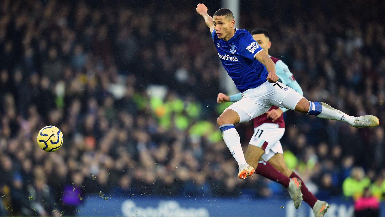 Platz 16 - Richarlison (FC Everton) - Bildquelle: 2019 Getty Images