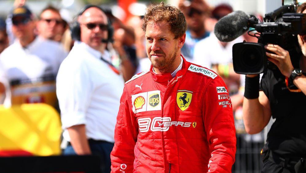 Sebastian Vettel - Bildquelle: 2019 Getty Images