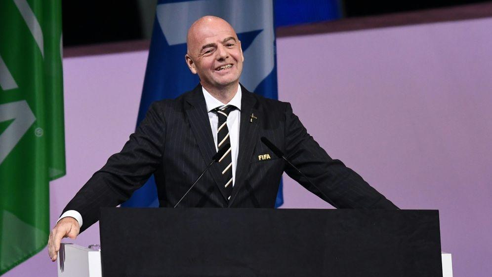 FIFA-Präsident Infantino ist gegen die CL-Reformpläne - Bildquelle: AFPSIDFRANCK FIFE