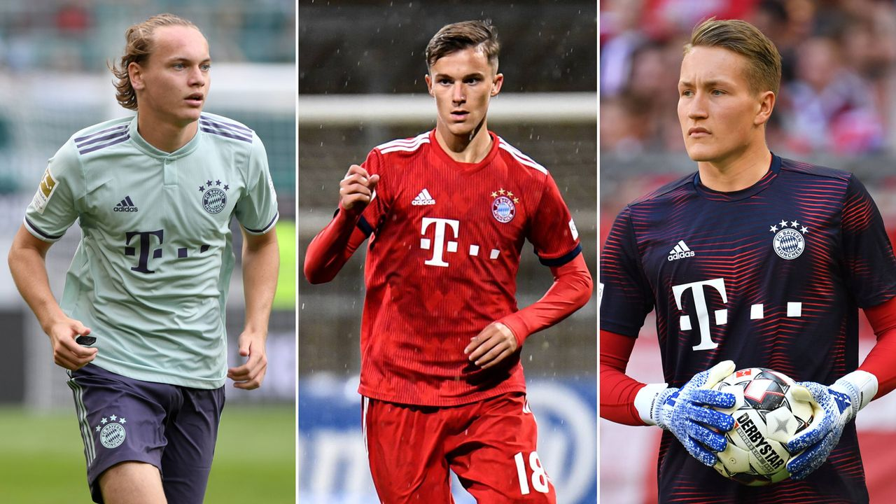 Die Nachwuchsspieler des FC Bayern auf der USA-Reise - Bildquelle: imago