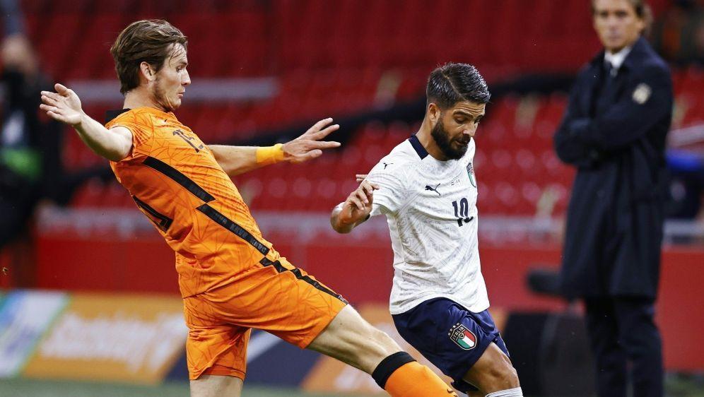Das Hinspiel in Amsterdam endete 1:0 für Italien - Bildquelle: ANPANPSIDMAURICE VAN STEEN