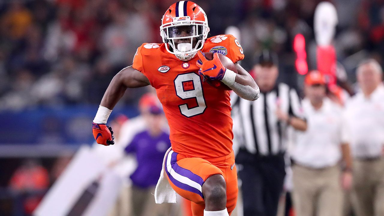 Travis Etienne, Running Back, Clemson - Bildquelle: Getty Images