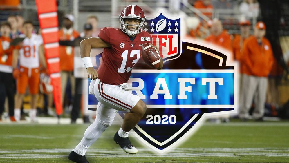 Einer der Top-Prospects beim Draft 2020: Quarterback Tua Tagovailoa - Bildquelle: imago images / ZUMA Press