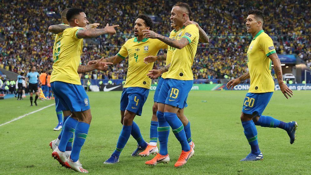 Brasilien gewinnt die Copa America im eigenen Land. - Bildquelle: 2019 Getty Images