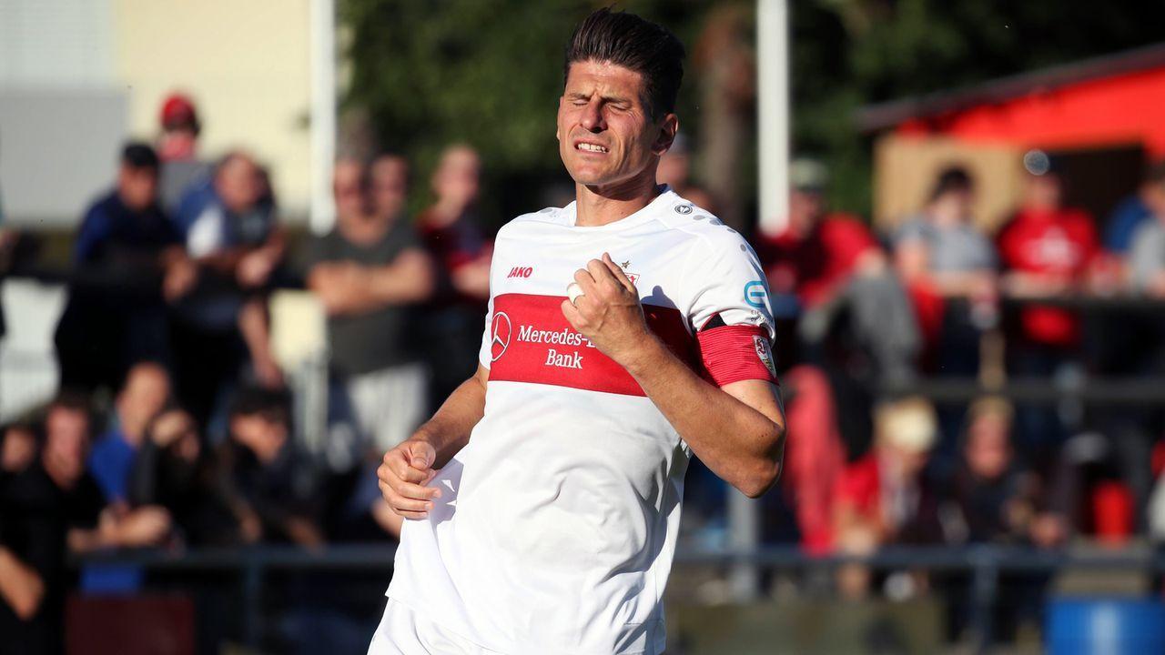 Angriff - Mario Gomez (VfB Stuttgart) - Bildquelle: imago images / Sportfoto Rudel