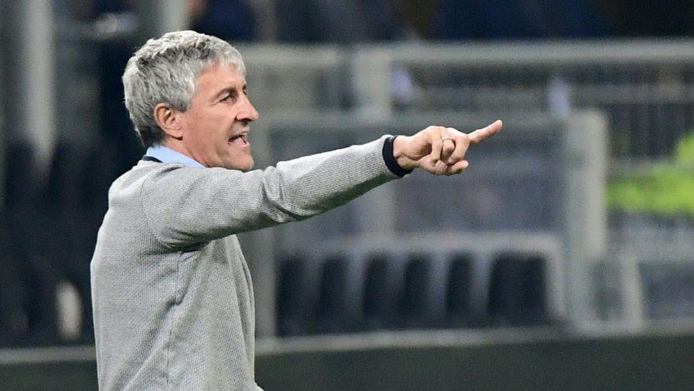Quique Setien ist nicht mehr Trainer von Betis Sevilla - Bildquelle: AFPSIDMIGUEL MEDINA