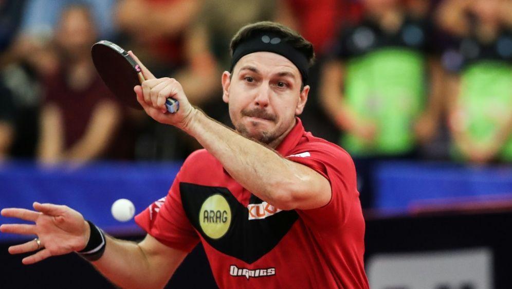 Timo Boll steht mit dem Herren-Team im Viertelfinale - Bildquelle: PIXATHLONPIXATHLONSID