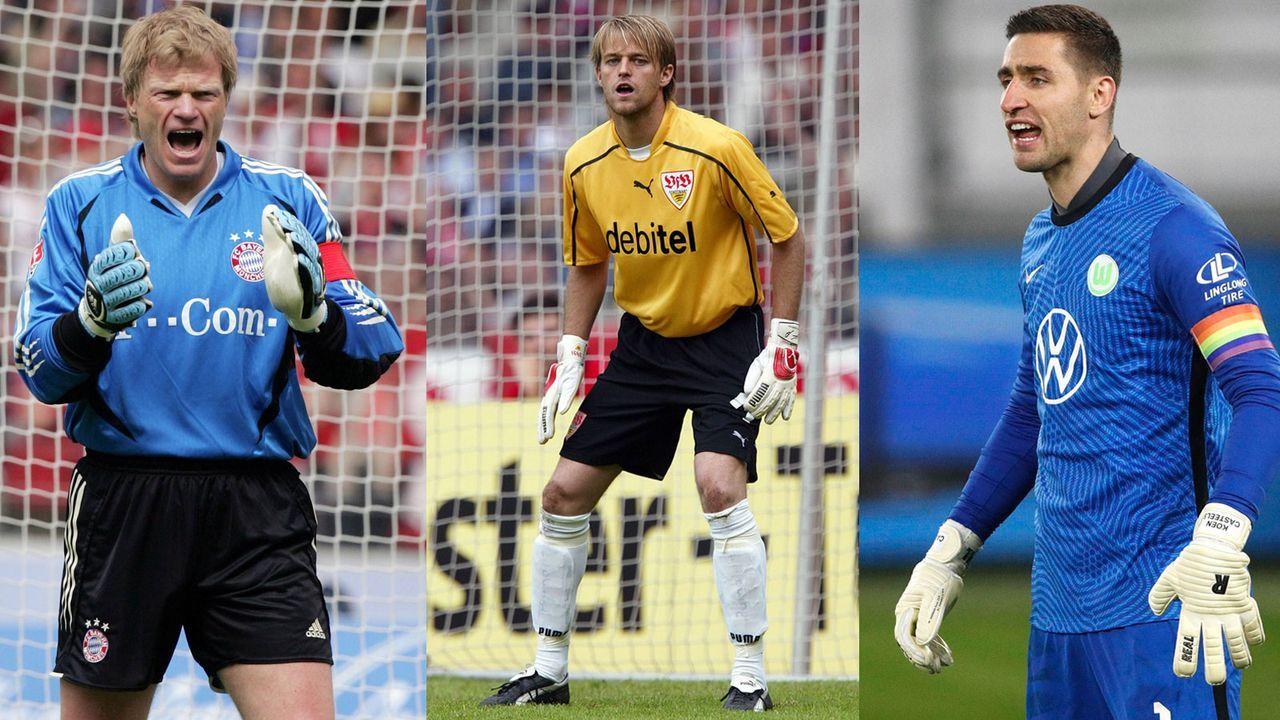 Casteels jagt Hildebrand, Kahn & Co: Die längsten Serien ohne Gegentor in der Bundesliga - Bildquelle: Imago Images