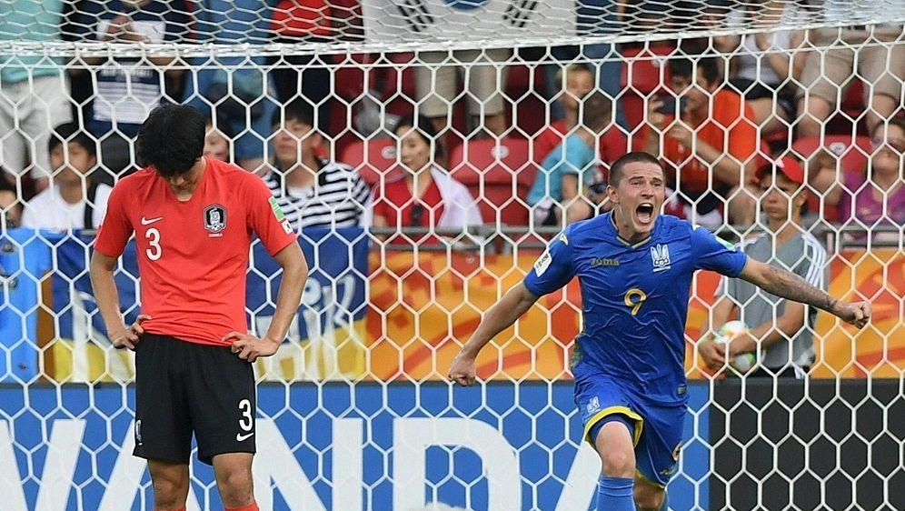 U20-WM: Die Ukraine schlägt im Finale Südkorea - Bildquelle: AFPSIDJANEK SKARZYNSKI