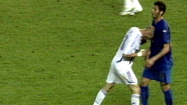 Der Kopfstoß von Zidane