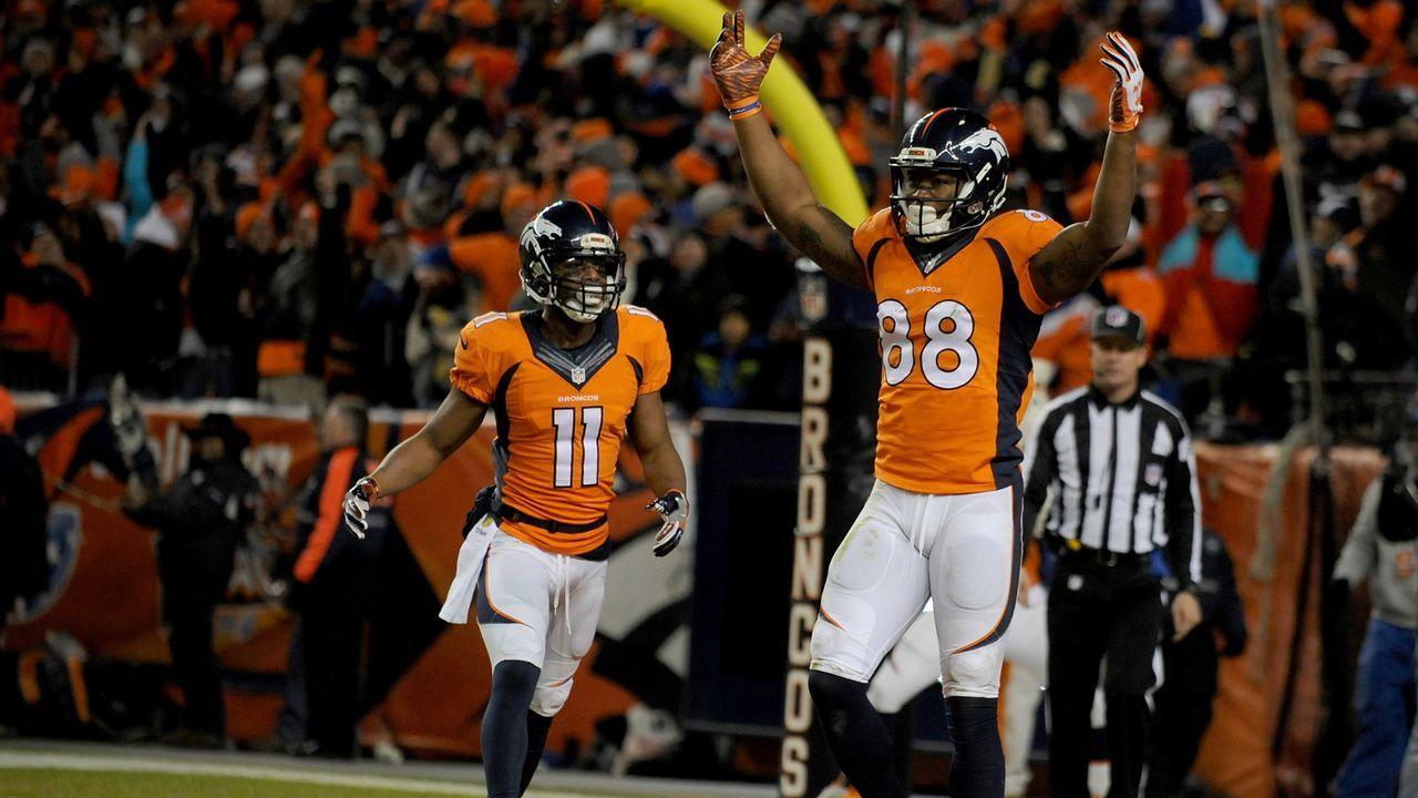 Platz 8 (geteilt): Denver Broncos - Bildquelle: 2016 Getty Images