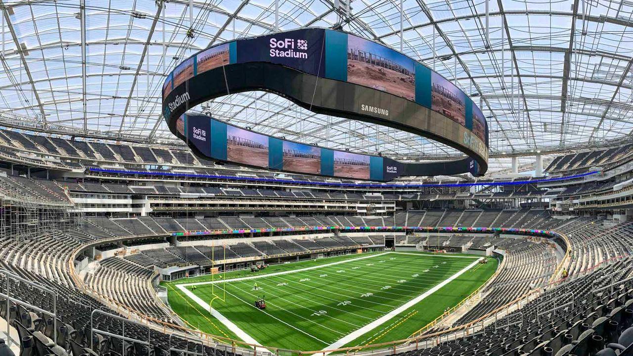 Los Angeles Chargers und Los Angeles Rams: SoFi Stadium - Bildquelle: imago