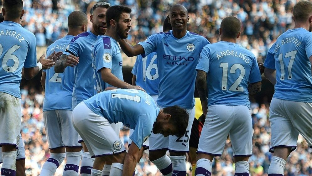 Manchester City feiert Kantersieg gegen Watford - Bildquelle: AFPSIDOLI SCARFF