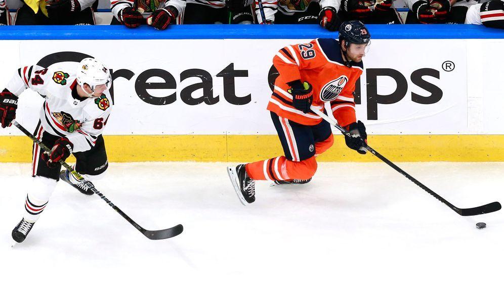 Leon Draisaitl startete mit einer Pleite beim NHL-Restart. - Bildquelle: Getty