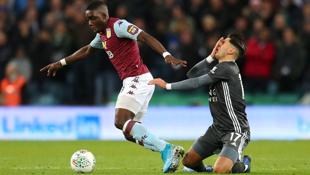 Leicester musste sich gegen Aston Villa geschlagen geben - Bildquelle: Getty Images