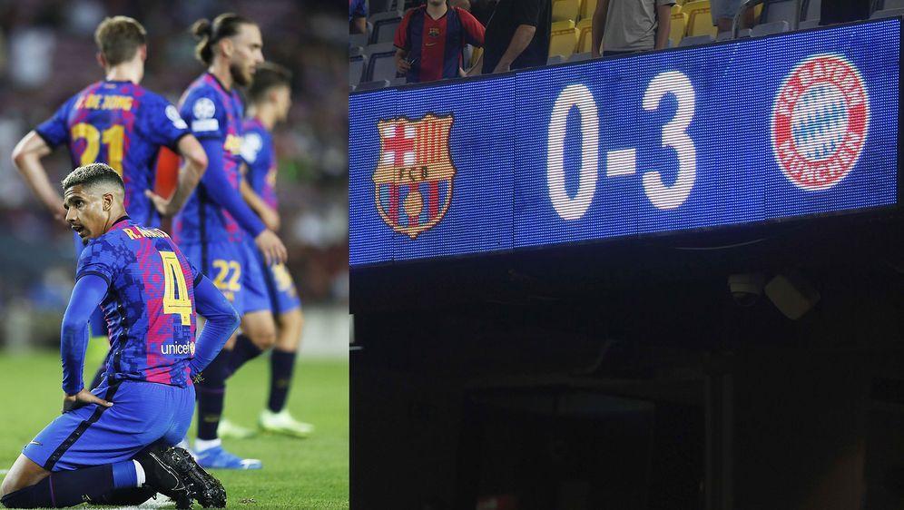 Es hätte auch schlimmer enden können: Der FC Barcelona kommt gegen den FC Ba... - Bildquelle: imago