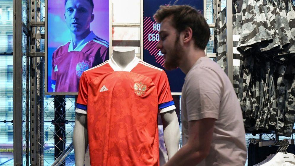 Rot, blau, weiß: adidas mit Panne bei russischen Trikots - Bildquelle: AFPSIDKIRILL KUDRYAVTSEV