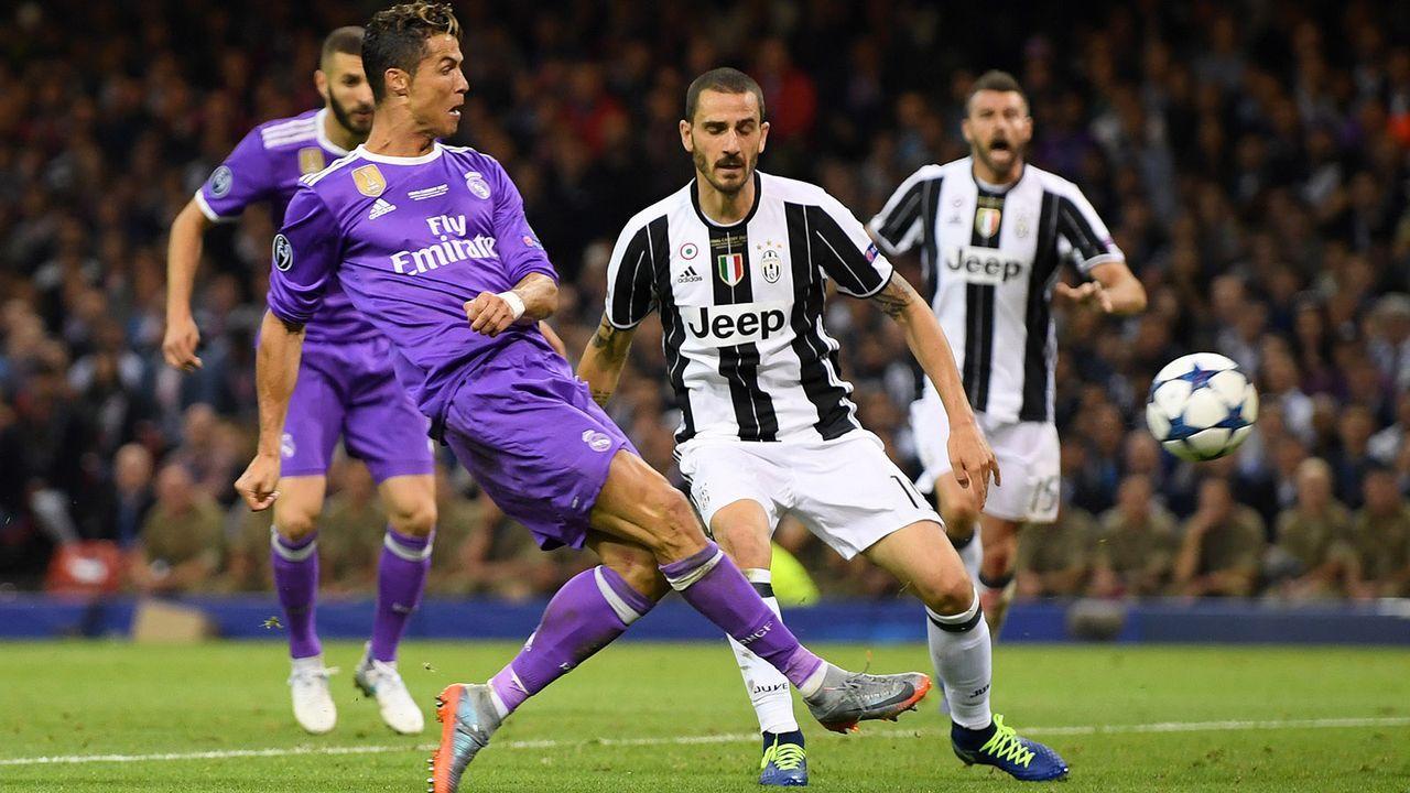 Platz 1: Juventus Turin - Bildquelle: 2017 Getty Images