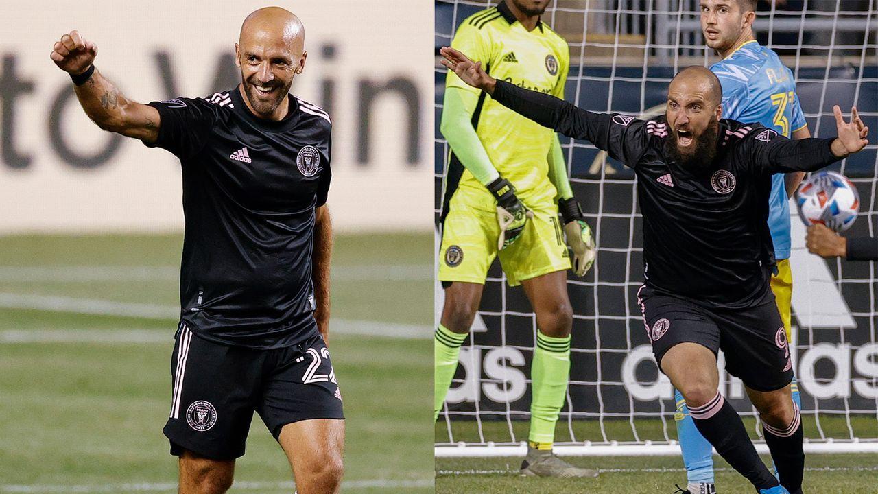 Zwei Tore - Higuain-Brüder schreiben MLS-Geschichte - Bildquelle: Getty Images