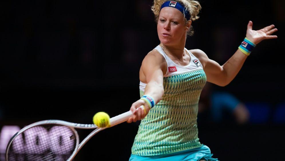 Doha: Laura Siegemund verliert ihr Match gegen Barty - Bildquelle: PIXATHLONPIXATHLONSID