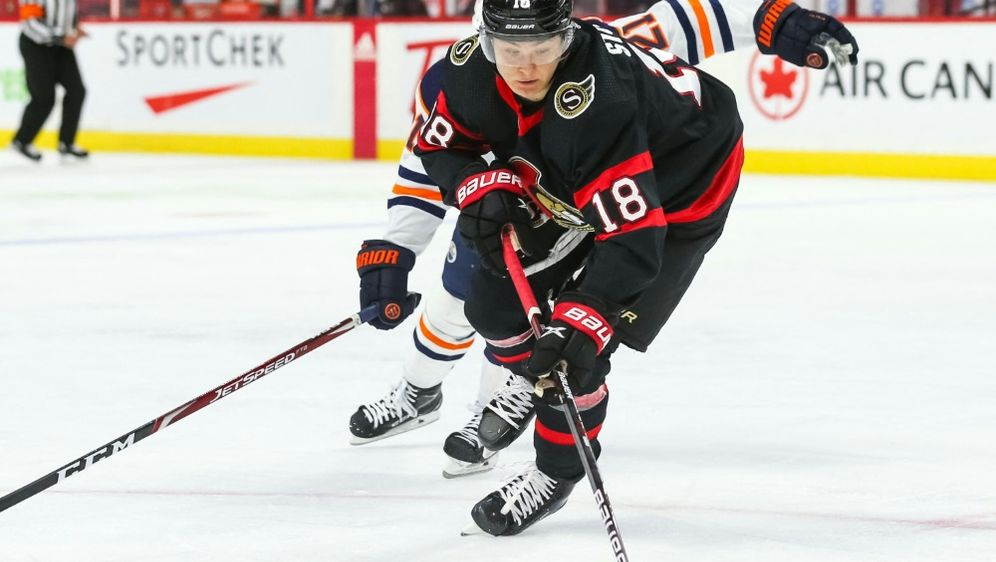 Tim Stützle von den Ottawa Senators - Bildquelle: AFPGETTY SIDCHRIS TANOUYE