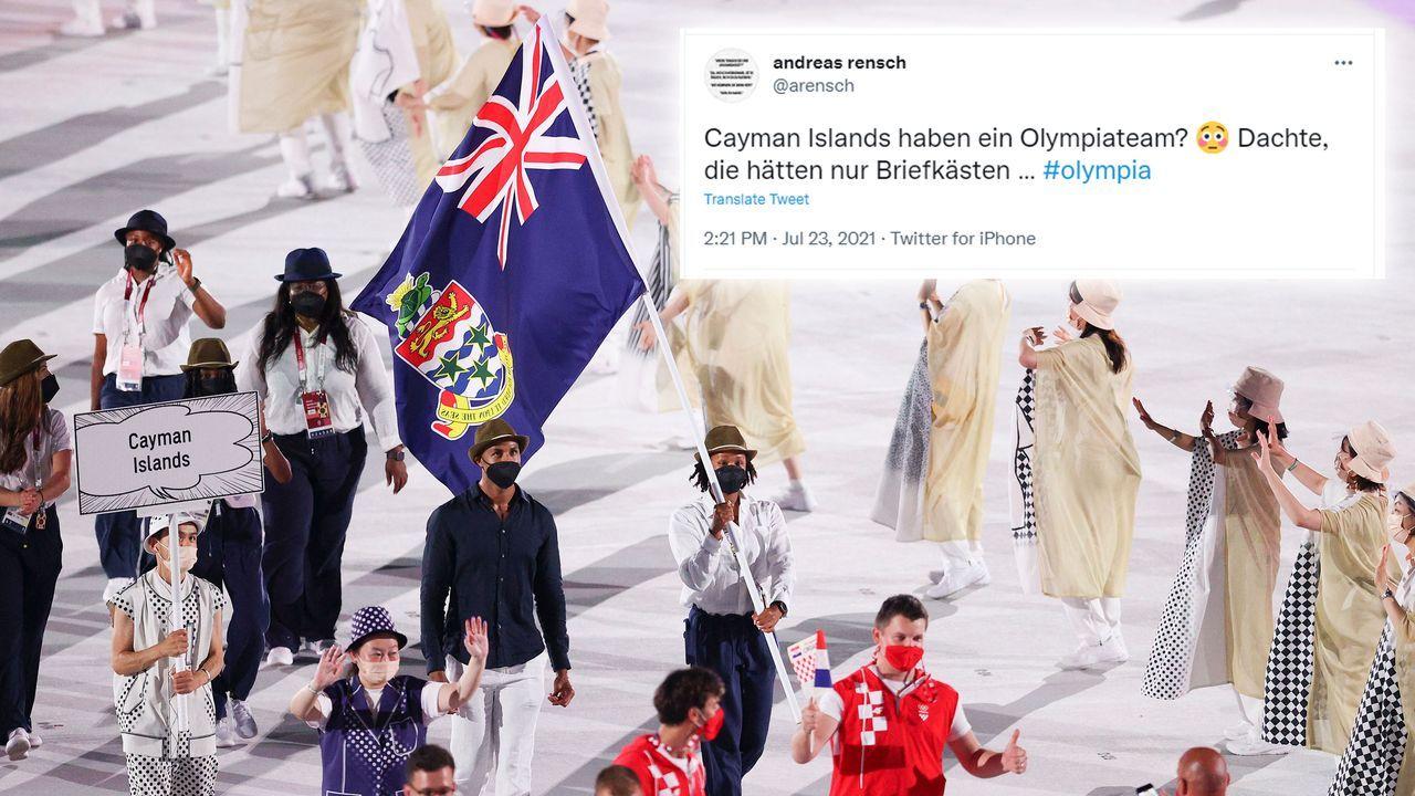 Auch die Cayman Islands sind dabei - Bildquelle: 2021 Getty Images