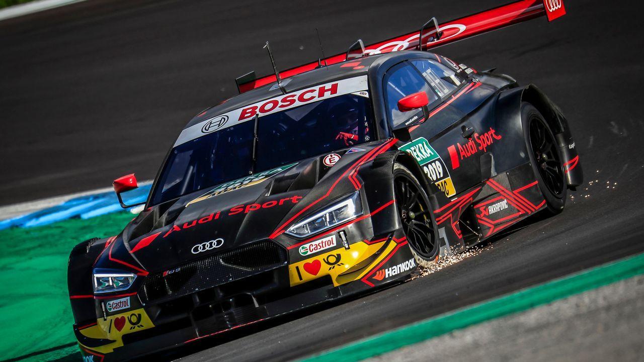 Turbo-Ära: Die neuen DTM-Autos von Audi und BMW - Bildquelle: Audi Communications Motorsport //Paulo Maria /