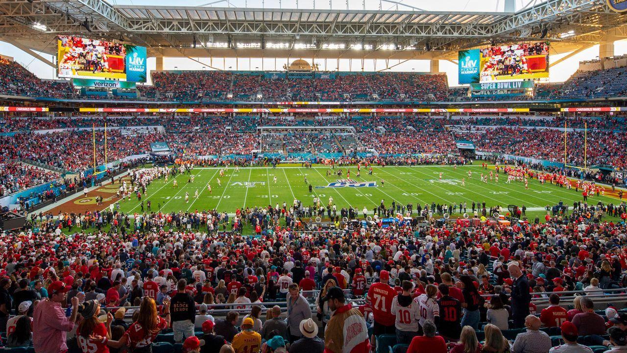 Super Bowl - Bildquelle: imago images/Icon SMI