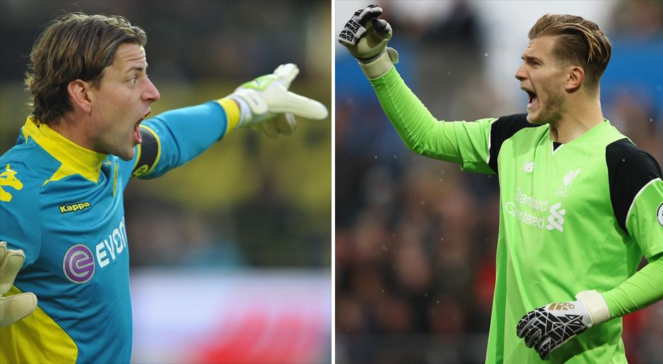 Tor: Weidenfeller vs. Karius - Bildquelle: Getty Images